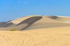 Biała piasek diuna, Mui Ne, Wietnam Zdjęcia Royalty Free