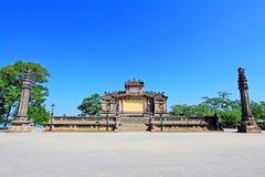 Bia Quoc Hoc, Hue Vietnam stock foto