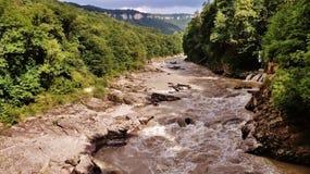 Biała rzeka Zdjęcie Stock