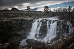 Biała rzeka Spada Oregon Obraz Stock