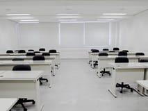 Biała sala lekcyjna Obrazy Royalty Free