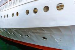 Biała statek deska zdjęcia royalty free