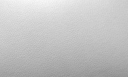 Biała sztucznej skóry tekstura Zdjęcie Royalty Free