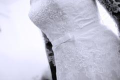 Biała toga Fotografia Stock