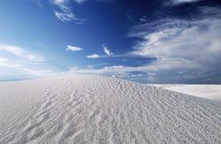 biały 2 piaska Fotografia Royalty Free