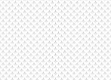 Biały abstrakcjonistyczny bezszwowy wzór z geometrycznymi ornamentami Zdjęcie Stock