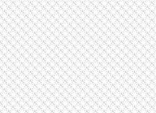 Biały abstrakcjonistyczny bezszwowy wzór z geometrycznymi ornamentami ilustracja wektor