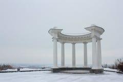 Biały altanka Obraz Stock
