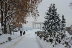 Biały altanka Poltava Fotografia Royalty Free