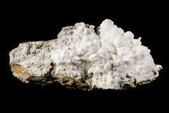 Biały aragonit Obrazy Royalty Free