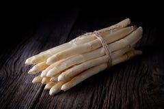 Biały asparagus Fotografia Royalty Free