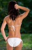 Biały bikini Obraz Royalty Free