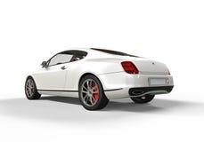 Biały Biznesowy samochód Zdjęcie Royalty Free