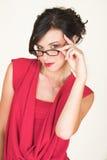 biały bizneswomanu young Zdjęcie Stock