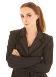 biały bizneswomanu young Obrazy Stock