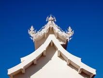 Biały Buddha. Obraz Stock