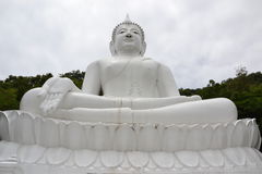 Biały Buddha Zdjęcie Royalty Free