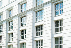 Biały budynek Obraz Royalty Free