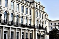 Biały budynek w Londyn Zdjęcie Royalty Free