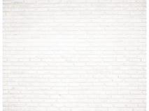 Biały ceglany pokój Zdjęcie Royalty Free