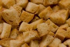 biały chlebowi krakers zdjęcie stock