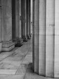biały czarny kolumny Obraz Stock