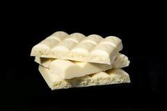 Biały czekolada Obrazy Royalty Free