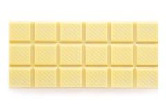 Biały czekolada Fotografia Stock