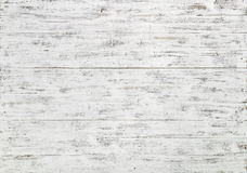 Biały Drewniane Deski Obrazy Stock