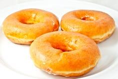 biały dysków donuts obrazy royalty free