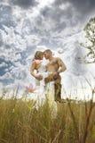 biały dziki Zdjęcia Stock