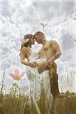 biały dziki Obraz Royalty Free