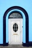 Biały, elegancki drzwi, Obraz Royalty Free