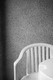 biały fotel Zdjęcie Royalty Free