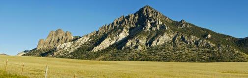 Biały Halny Wyoming Obrazy Royalty Free