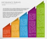 Biały infographics Obrazy Royalty Free