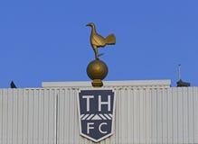 Biały jelenia pas ruchu - Tottenham raptusa stadium Fotografia Stock