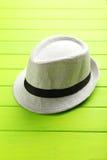 Biały kapelusz Obraz Royalty Free