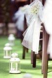Biały lampion obraz stock