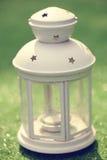 Biały lampion fotografia royalty free