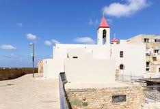 Biały Maronites dom Obraz Royalty Free