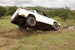 Biały Mazda BT-50 4x4 3L Fotografia Stock