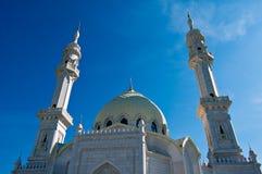 Biały meczet - architektoniczna odbudowa Zdjęcia Royalty Free