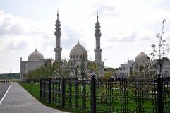 Biały meczet w wiosce Bulgar obraz royalty free