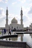 Biały meczet w wiosce Bulgar zdjęcie stock