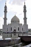 Biały meczet w wiosce Bulgar fotografia stock