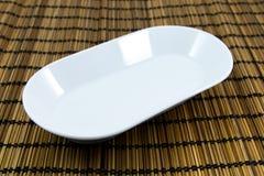 Biały naczynie Obraz Stock