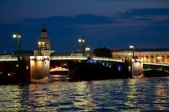 Biały noc, Saint-Petersburg Obrazy Stock