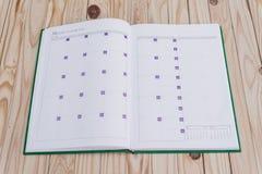 Biały notatnik Zdjęcia Royalty Free
