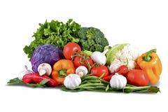 biały odosobneni warzywa Zdjęcia Stock